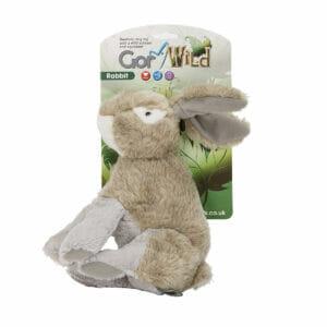 Gor Wild Rabbit Soft Squeaky Dog Toy