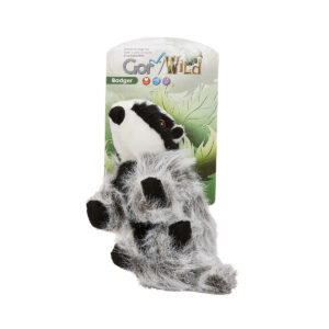Gor Wild Badger Soft Squeaky Dog Toy