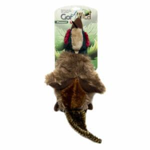 Gor Wild Pheasant realistic soft squeaky Dog Toy