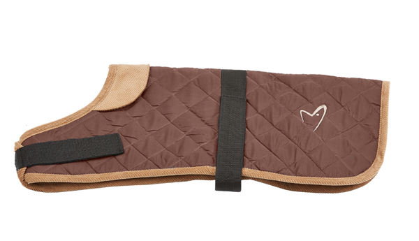 The Gor Pets Worcester Coat isa fantastic stylish quilted dog coat. Water resistant with velcro fastenings and quilted for warmth.